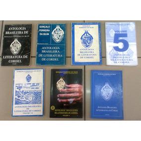 7 Livros Da Antologia Brasileira De Literatura De Cordel