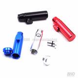 Bullet Dosador De Alumínio Para Rapé 6 Unidades Frete Gratis