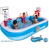 Piscina Inflable Intex De Baloncesto Bestway