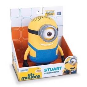 Muñeco Minion - Stuart Figura De Accion 20cm - Hago Envios.-
