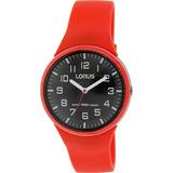 Reloj Lorus By Seiko Rrx59dx9 Dama Analogico Rojo