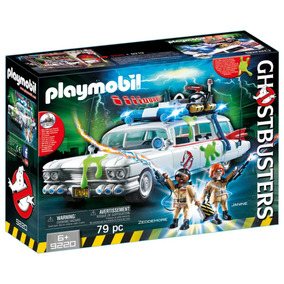 Playmobil Ghostbusters 9220 - Veículo Caça-fantasmas Ecto-1