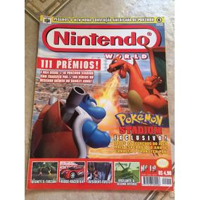 Revista Nintendo 19 Pokémon Stadium Tomb Raider Tarzan