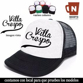 Gorra Trucker Barrios De Buenos Aires Mod Villa Crespo Bs As