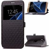 Galaxy S7 Case Sailson Electronics Kickstand Slim Fi -negro