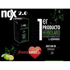 Nox 2.0 By Kromasol - Controla Y Disminuye Tu Peso!!