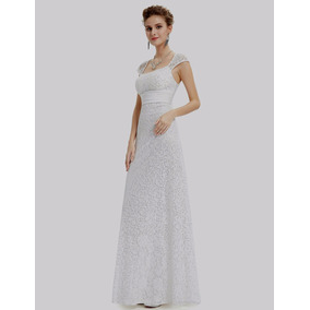 Vestido Noiva Renda Import E Pretty P Entrega=96-98 Cm Busto