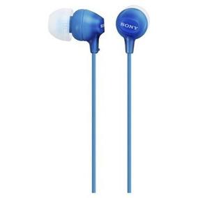 Auricular Sony Mdr-ex15lp In-ear Azul