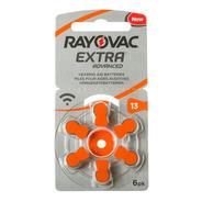 Pilas Rayovac Nº 13 Audifonos Caja 60 Pilas Naranja Oferta