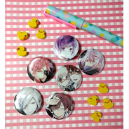 Set De 6 Pins Prendedores De Anime Diabolik Lovers Pines