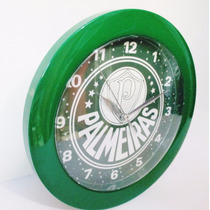 Relógio De Parede Palmeiras Produto Oficial Licenciado