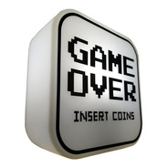 Luminária Abajur Game Over Gamer