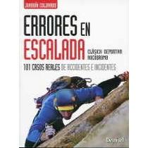 Errores En Escalada (manuales (desnivel)) Joaqu Envío Gratis