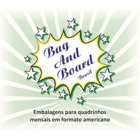 Bag And Board Para Quadrinhos Em Formato Amer. C/ 100 Unid.