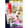 30 Moldes Tickas P/hacer Flores En Goma Eva+libro Digital