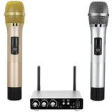 Excelvan K28 Sistema De Micrófono Inalámbrico De Moda