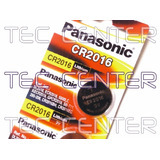 Pilha Cr2016 Panasonic 3v - 05 Unid - Original - Frete 10,00