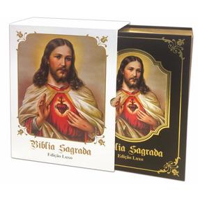Bíblia Sagrada Católica Ilustrada Grande Dcl - Edição Luxo