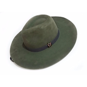 G - Chapéu Ginete Campeiro Verde Militar Aba 10 P01