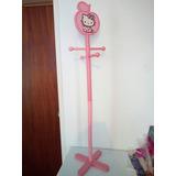 Perchero De Madera Para Sala O Cuarto Hello Kitty