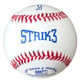 Pelotas De Beisbol Strike 3 Piel 1 Pieza Oferta Strik3