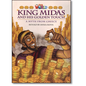 King Midas And His Golden Touch - Level 6 - Series Our World
