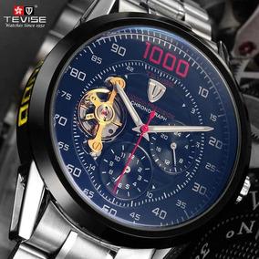 c1c9ee31b6a Relogio Esqueletos Transparente Automatico - Joias e Relógios no ...
