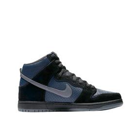 Tênis Nike Sb Dunk High Trd - Black/lt Graphite-obsidian