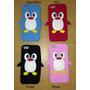 Capa Case Pinguim Iphone 5 5c E 5s