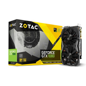 Placa De Vídeo Vga Nvidia Zotac Geforce Gtx 1080 8gb Mini