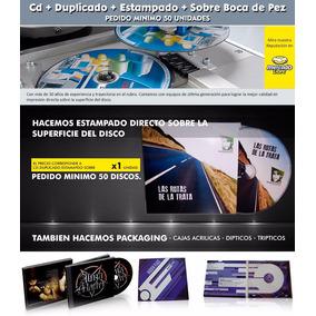 Impresion Cd+copiado+estampado+sobre Boca De Pez