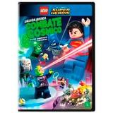 Liga Da Justiça - Combate Cósmico Dvd Lego
