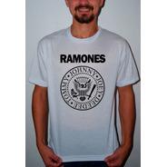 Camiseta Ou Baby Look Ramones