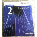 Matemáticas Santillana Bicentenario 2 Medio