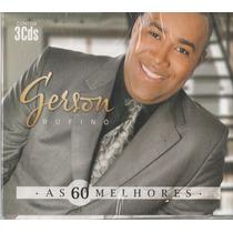 Cd Gerson Rufino As 60 Melhores (3 Cd`s)