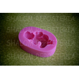 *molde Silicon Bebe Dormido 3d Baby Shower Cak Fondant Jabon