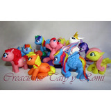10 Mi Pequeño Pony Souvenirs Porcelana Fria My Little Pony