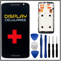 Pantalla Display Touch Moto X Play + Marco + Envio + Regalos