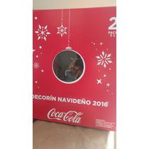 Coca Cola Decorin Navideño Reno Con 2 Coca Colas