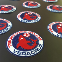 Parche Escudo Tiburones Rojos De Veracruz, Kappa