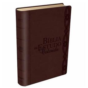 Bíblia De Estudo Colorida Nvi Letra Grande Cores A Escolher