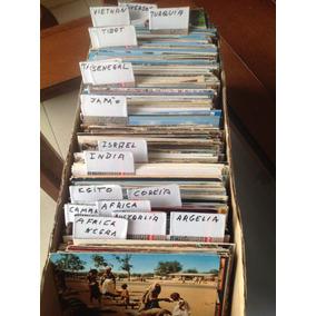 Cartões Postais: Lote Com 25 Da Asia E Africa