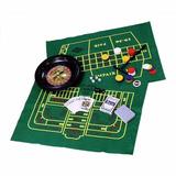 Kit Com 5 Jogos Roleta Baralho Dados Poquer Roleta Western