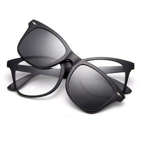 af3d4f32d094b Óculos Grau Adaptador Clip On Lentes De Sol P - Óculos De Sol no ...