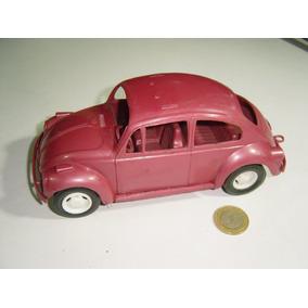 Vintage Volkswagen Vocho Vovhito Plástico De Mercado Lila