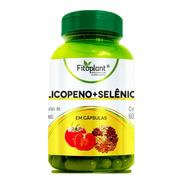 Óleo Licopeno + Selenio 60 Cápsulas 500mg Caixa C/ 6 Potes