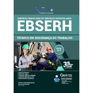 Apostila Concurso Ebserh 2020 Técnico Segurança Do Trabalho