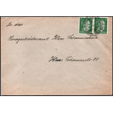 W W I I 1945 Sobre Coleccion Alemania Historia Estampillas