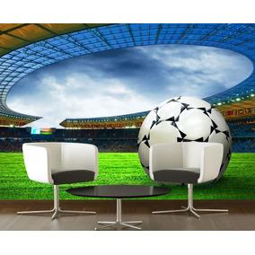 08d689b42b Papel De Parede Futebol Bola Gol Esporte Jogo Completo Gg134