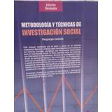 Metodologia Y Tecnicas De Investigacion Social Piergiorgio